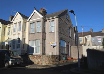 Thumbnail 3 bedroom end terrace house for sale in Meredith Road, Peverell, Plymouth