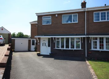 Thumbnail 4 bed semi-detached house for sale in Walton Way, Talke, Stoke-On-Trent