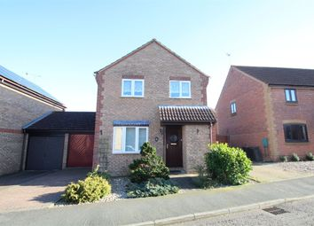 Thumbnail 3 bed detached house for sale in Spencer Way, Stowmarket, Suffolk