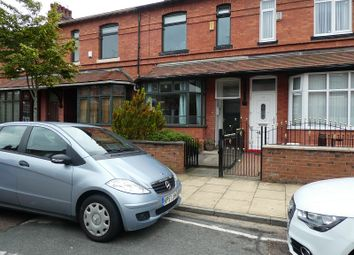 Thumbnail 3 bed terraced house for sale in Thorpe Street, Old Trafford, Manchester.