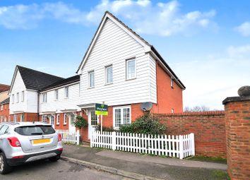 3 bed end terrace house for sale in St. Johns Way, Edenbridge TN8