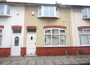 Thumbnail 2 bed terraced house for sale in Falcon Street, Preston