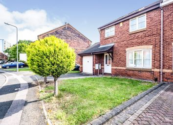 Thumbnail 4 bed semi-detached house for sale in Horsecroft Drive, West Bromwich
