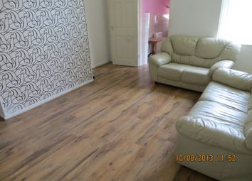 Thumbnail 4 bedroom flat to rent in Strathmore Crescent, Benwell, Newcastle Upon Tyne