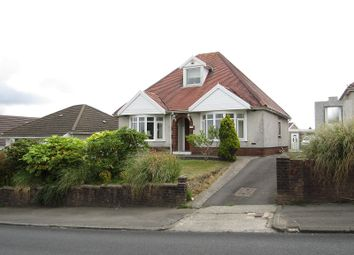 Thumbnail 3 bed detached bungalow for sale in Caemawr Road, Morriston, Swansea, City And County Of Swansea.