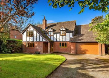 Thumbnail 4 bed detached house for sale in West Felton, Oswestry