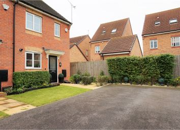 Thumbnail 2 bed semi-detached house for sale in Stackyard Close, Leicester