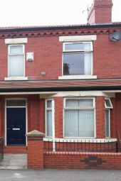 Thumbnail 3 bed terraced house to rent in Crofton Street, Rusholme, Manchester
