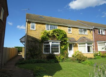 Thumbnail 3 bedroom end terrace house for sale in Broadlands, Syderstone, King's Lynn