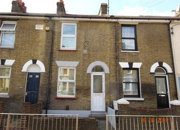 2 bed terraced house to rent in Luton Road, Chatham ME4
