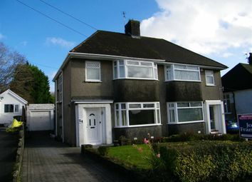 Thumbnail 3 bedroom semi-detached house for sale in Wimmerfield Drive, Killay, Swansea