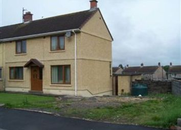 Thumbnail 3 bed semi-detached house to rent in Rhosnewydd, Tumble, Tumble