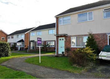 Thumbnail 3 bedroom semi-detached house for sale in Cookes Drive, Broughton Astley