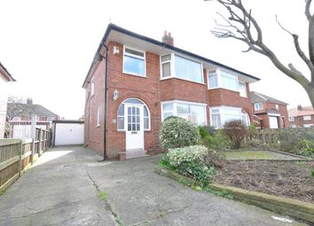 Thumbnail 3 bedroom semi-detached house for sale in Rossington Avenue, Bispham, Blackpool, Lancashire