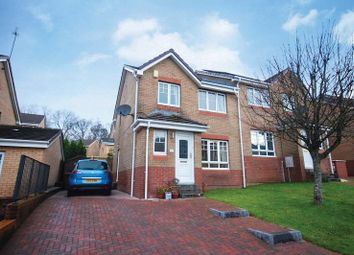 Thumbnail 3 bed semi-detached house for sale in Perrays Drive, Dumbarton