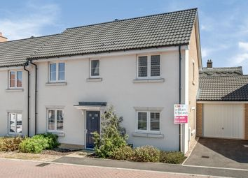 Thumbnail 3 bed semi-detached house for sale in Boyton Hall Drive, Combs Lane, Stowmarket