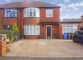 Thumbnail 4 bed semi-detached house for sale in Chadderton Hall Road, Oldham