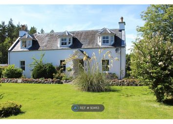 Thumbnail 4 bed detached house to rent in Dunphail, Forres
