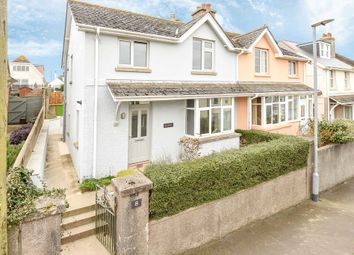 Thumbnail 3 bed semi-detached house for sale in Grenville Road, Salcombe, South Devon