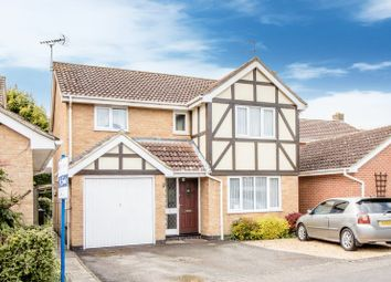 Thumbnail 4 bed detached house for sale in Salon Way, Stukeley Meadows, Huntingdon, Cambridgeshire.