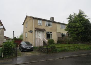 Thumbnail 3 bed semi-detached house for sale in Lomond Drive, Dumbarton