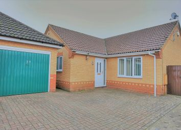 Thumbnail 3 bed detached bungalow for sale in Snowdrop Drive, Attleborough