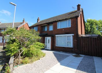 Thumbnail 3 bedroom semi-detached house for sale in Carnforth Avenue, Bispham