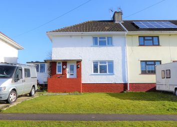 Thumbnail 3 bed end terrace house for sale in Glannant Road, Cefn Glas, Bridgend.