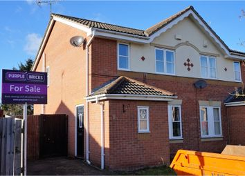 Thumbnail 3 bed semi-detached house for sale in Tilbury Crescent, Leicester