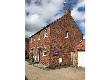 Thumbnail 2 bed semi-detached house for sale in Lynnon Field, Warwick