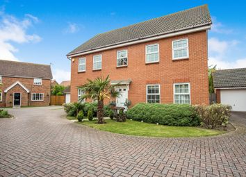 Thumbnail 5 bed detached house for sale in Lister Close, Gorleston, Great Yarmouth