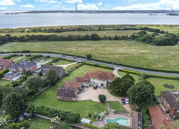 Thumbnail 9 bed detached house for sale in Hook Park Road, Warsash, Hampshire