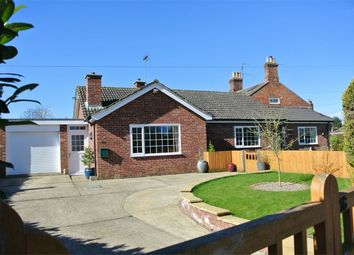 Thumbnail 3 bed detached bungalow for sale in Chapel Street, Billingborough, Sleaford, Lincolnshire