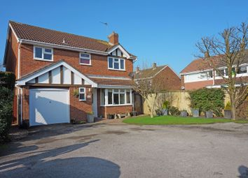 Thumbnail 4 bed detached house for sale in Galahad Drive, Stretton