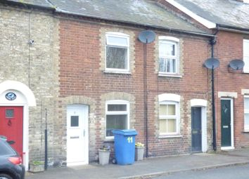 Thumbnail 2 bed terraced house to rent in Cameron Close, Southgate Street, Long Melford, Sudbury