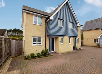 Thumbnail 3 bed semi-detached house for sale in Bumpstead Road, Haverhill, Suffolk
