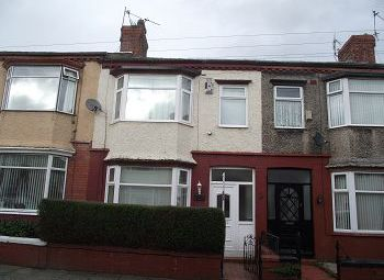 Thumbnail 3 bed terraced house to rent in Southdale Road, Birkenhead