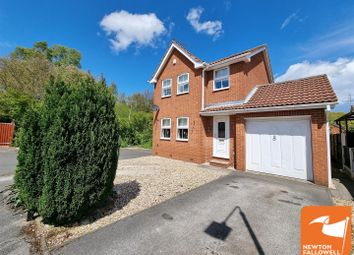 Thumbnail 3 bed detached house for sale in Dunwoody Close, Mansfield