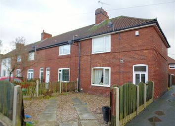 Thumbnail 3 bedroom end terrace house for sale in Newstead Terrace, Fitzwilliam, Pontefract