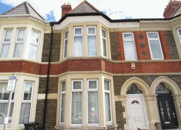 Thumbnail 4 bedroom terraced house for sale in Beda Road, Canton, Cardiff