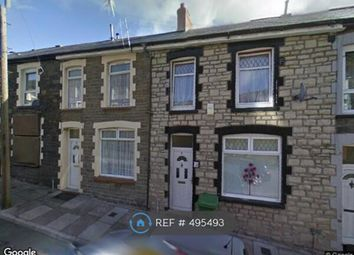 Thumbnail 3 bedroom terraced house to rent in Park Street, Penrhiwceiber, Mountain Ash