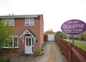 Thumbnail 3 bedroom semi-detached house for sale in Beck Gardens, Farnham, Surrey