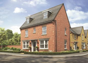 "Thumbnail 4 bed detached house for sale in ""Hertford"" at Station Road, Chelford, Macclesfield"