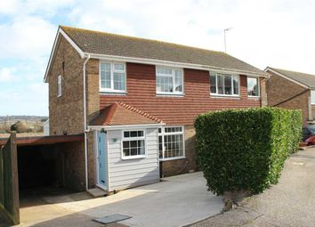 Thumbnail 3 bed property for sale in Bramber Close, Peacehaven