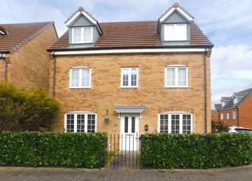 Thumbnail 5 bed detached house for sale in Cornmill Road, Sutton In Ashfield, Nottinghamshire