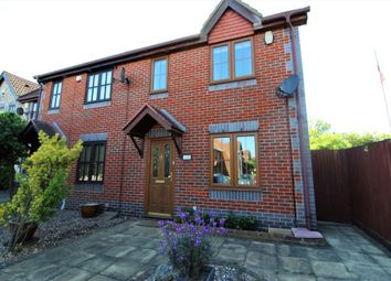 Thumbnail 3 bed end terrace house for sale in Gilbert Road, Chafford Hundred, Grays