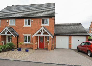 Thumbnail 3 bedroom semi-detached house for sale in Chadwell Close, Hasland, Chesterfield
