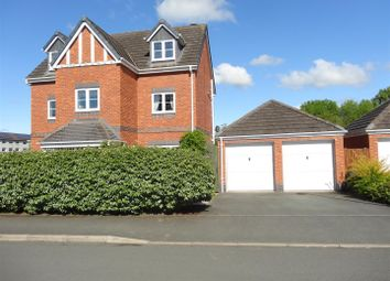 5 bed detached house for sale in Swain Close, Wem, Shropshire SY4