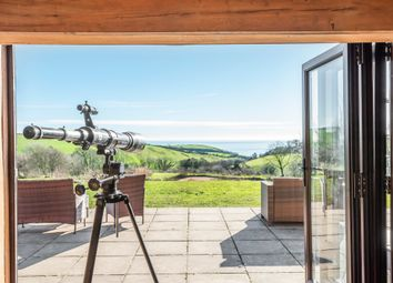 Thumbnail 5 bed barn conversion for sale in Downderry, Downderry