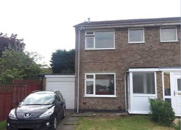 Thumbnail 2 bed semi-detached house to rent in Canning Way, Loughborough